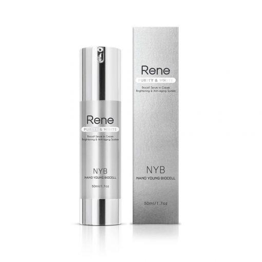 Rene Purity & White Biocell Serum In Cream