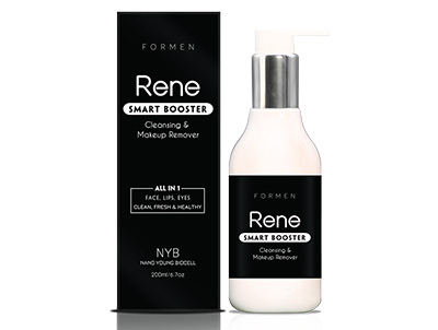 Rene Smart Booster Cleansing & Makeup Remover